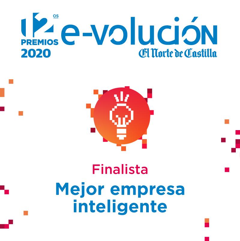 """Finalista en la categoría """"Mejor empresa inteligente"""" en los Premios e-volución"""